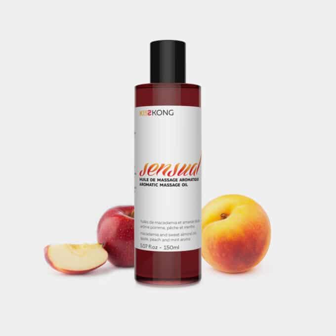 huile de massage amande douce macadamia